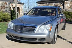 2004 Maybach 57 for rent. Perfect for your next special event, movie production, TV commercial or photo shoot.