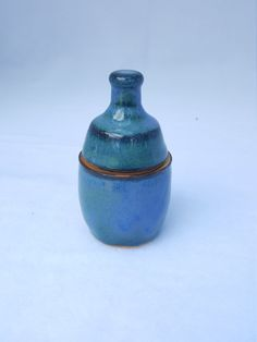 Check out this item in my Etsy shop https://www.etsy.com/listing/461728662/small-stoneware-lidded-jar