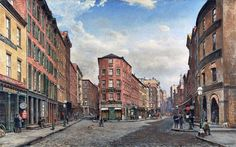 A View of Gold Street, New York jigsaw puzzle