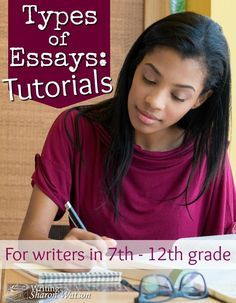 type of essays writing