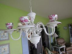 teacup chandelier-omg too cute