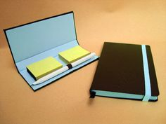 Kit para escritório, 1sketchbook, 1 porta postit c/lápis. Temos vários revestimentos R$ 80,00