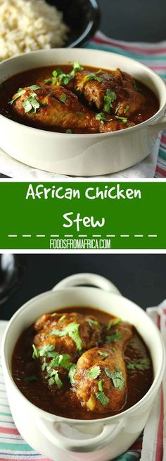 There are 3 simple steps to achieving the perfectly flavoursome West African chicken stew. Easy and delicious! Afro-fusion food blog | West African recipe | African food blog.