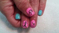 Triathlon nails
