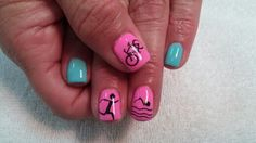 Triathlon nails