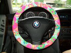 FABULOUS wheel cover  Designer Inspired Steering Wheel Cover on Etsy, $26.00