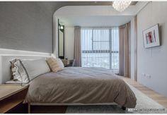 浩瀚大學漾_現代風設計個案—100裝潢網 Furniture, Home Decor, Decor, Bed