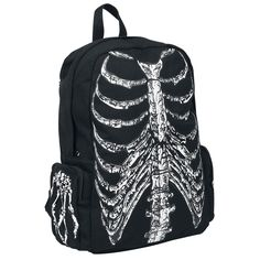 Banned  Backpack  »Skeleton« | Buy now at EMP | More Rock wear  Backpacks  available online ✓ Unbeatable prices!