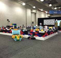 #TradeShow #Booth #stage #set #design #diplay #CreativeFactor #NYTF2016 #ToyFair #DIY #modular #EverBlockSystems #buildit #create