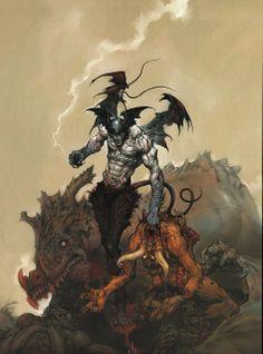 Devilman art Katsuya Terada