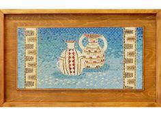 CANTAROS DIAGUITAS. Tile, Random, Frame, Home Decor, Murals, Mosaics, Objects, Picture Frame, A Frame