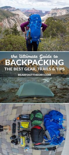 Learn everything you need to know to plan a wilderness backpacking trip,  including our favorite 7d725802ee