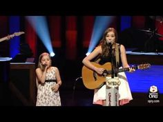 Incredible Singing Sensation Sisters Lennon and Maisy Perform Ho Hey - YouTube
