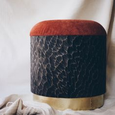 The Choppy Waters Stool. *we're looking for an upholsterer in the South West. Please DM me if you know anyone* Choppy Water, Stool, Design, Stools, Chair, Design Comics