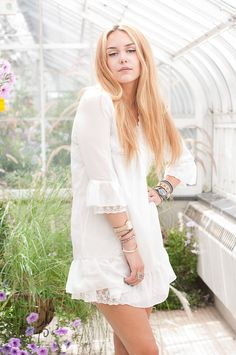 For clothing: we'd like to stick to the white dresses--they're a staple that everyone has, and we like the unity in everyone wearing the same outfit (or variations of it).