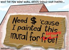 Local artist feels lack of pay cheapens Worcester murals project
