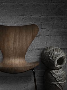 Fritz Hansen chair - via April and May Studio