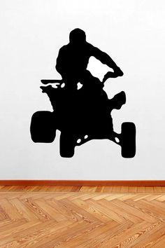 Four Wheeler -Sports Vinyl Wall Decals Stickers Quotes on Etsy, $7.00
