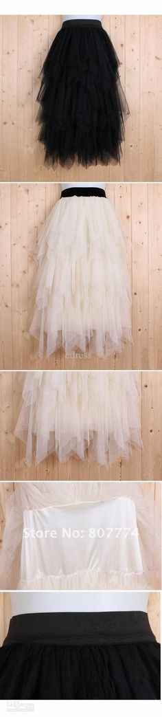 Image detail for -… Women tulle skirt long ball skirt black/apricot skirt promotion | We Know How To Do It