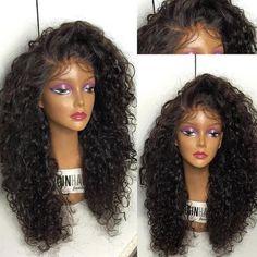 Vinuss Hair 100% Human Hair Wigs For African Americans Kinky Curly Full Lace Wig  #deepcurly #bodywave #straight #kinkycurly