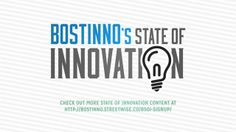 Exclusive content through June and July, and the State of Innovation Forum June 2013. Focusing on innovation in retail, mobile, marketing, and higher education. Thank you to our host and video creator, Communispace Sponsored by @HubSpot, Cantina and @NewburyportBrewingCompany http://bostinno.streetwise.co/series/bsoi/