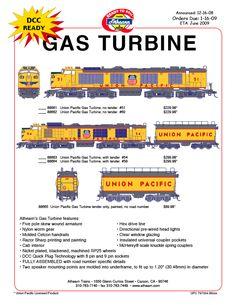 union pacific gas turbine photos - Google Search