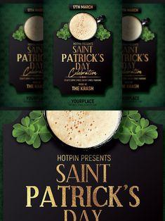 Club Flyers, St Patricks Day, Saints