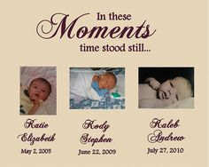 In These Moments, Family Room, Vinyl Lettering, Vinyl Wall Art, Family Name Vinyl Wall Decal,
