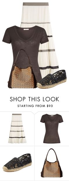"""""""Untitled #21570"""" by nanette-253 ❤ liked on Polyvore featuring Etro, James Perse, Tory Burch and Coach"""