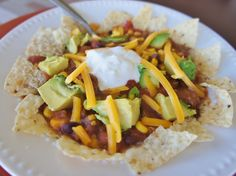 365 Days of Slow Cooking: Easy Slow Cooker Beef and Bean Enchilada Soup with Avocado