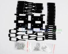 6 Legs 18 DOF Robot BK Spider Robot Bracket Stent Kit(NO SERVO)  http://www.icstation.com/product_info.php?products_id=2697