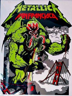 Very Cool here, Metallica San Francisco..