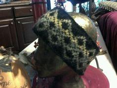 Fair isle headband