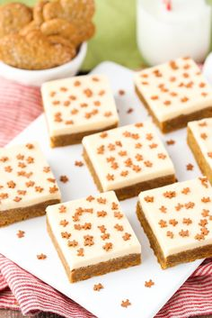 Caramel-Gingerbread Cookie Bars