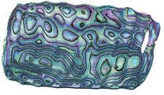 Faux Abalone from polymer clay. Tutorial written by Chryse in 2001.