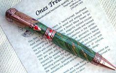 Ballpoint Pen Pen Handcrafted Pen Hand Turned by onestreasures
