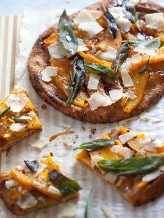 Pumpkin and fried sage flatbread plus 5 savory pumpkin recipes