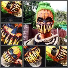 Halloween 2017 Carved Pumpkin Teeth