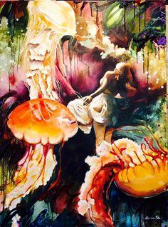 Dimitra Milan, 2000 | Whimsical /Surrealist painter | Tutt'Art@ | Pittura * Scultura * Poesia * Musica |