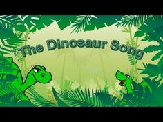 Dinosaur Song for Kids Learning English | Simple Song and Cutest Singing Ever