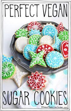 Perfect Vegan Sugar Cookies