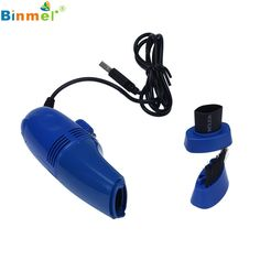BINMER Futural Digital USB Vacuum Cleaner Designed For Cleaning Computer Keyboard Phone Use  Good Quality AP18