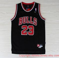 23f03c5fda1 Michael Jordan Chicago Bulls Rare NBA 23 Jersey Michael Jordan Jersey Black Basketball  Jersey All Stitched