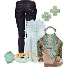 LOLO Moda: #trendy #women #outfit, http://lolomoda.com/afternoon-outfit-trend-2014/