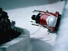 size: Photographic Print: Bobsled in the Bobsleigh Bullet at Canada Olympic Park, Calgary, Canada by Rick Rudnicki : Entertainment Sports Images, Sports Art, Olympic Sports, Olympic Games, Bobsleigh, Popular Sports, Winter Olympics, Extreme Sports, Winter Sports