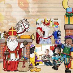 Sinterklaas scrapbook layout created with digital scrapbooking kits from Kate Hadfield Designs – fun ideas for Sinterklaas scrapbook pages! Layout by Creative Team member Winnie