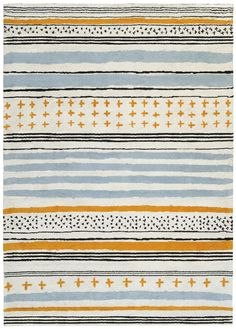 Tartarin Rug - By Ines de la Fressange / 170 x 240 cm Multicolor by Toulemonde Bochart - Design furniture and decoration with Made in Design