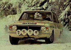 1968 Rajd Szwecji (Soderstrom & Palm) Ford Lotus Cortina