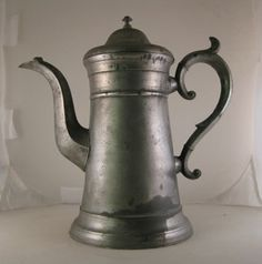 I think pewter is my favorite! Heavy, substantial, beautifully shaped... Especially the handle.
