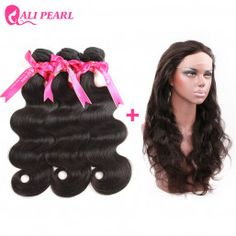Hair Extensions & Wigs Radient 13x4 Pre Plucked Lace Frontal Closure With Baby Hair Body Wave Remy Hair Natural Color Ali Pearl Hair Human Hair Weaves
